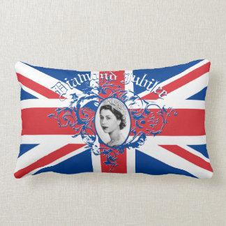 Diamond Jubilee 2012 Lumbar Pillow