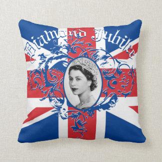 Diamond Jubilee 2012 Throw Pillow