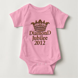 Diamond Jubilee 2012 with Crown Baby Bodysuit