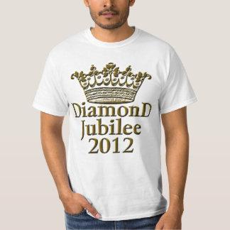 Diamond Jubilee 2012 with Crown T-Shirt