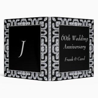 Diamond Jubilee 60th Wedding Anniversary Binder