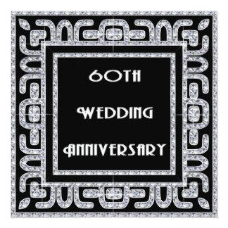 Diamond jubilee wedding anniversary gifts on zazzle diamond jubilee 60th wedding anniversary card yadclub Gallery