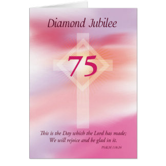 Diamond Jubilee, 75 Years as a Nun Card