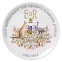 Diamond Jubilee Australia plate