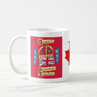 Diamond Jubilee Canada Coffee Mugs