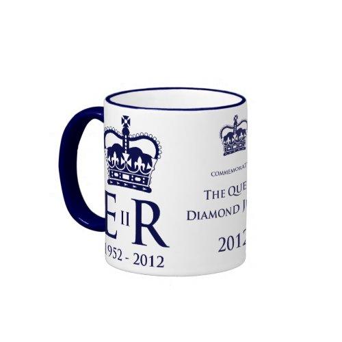 Diamond Jubilee Commemorative Mug mugs
