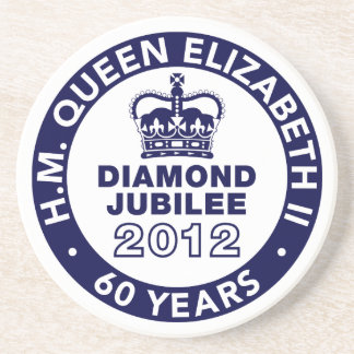 Diamond Jubilee Commemorative Mug Coasters