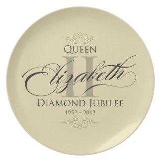 Diamond Jubilee Commemorative Plate