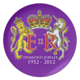 Diamond Jubilee Commemorative Plate [Supporters]