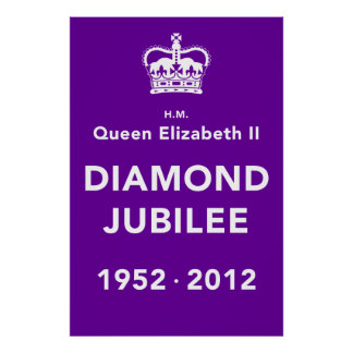 Diamond Jubilee Commemorative Poster