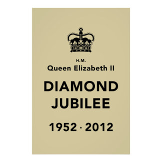 Diamond Jubilee Commemorative Poster [Calm]