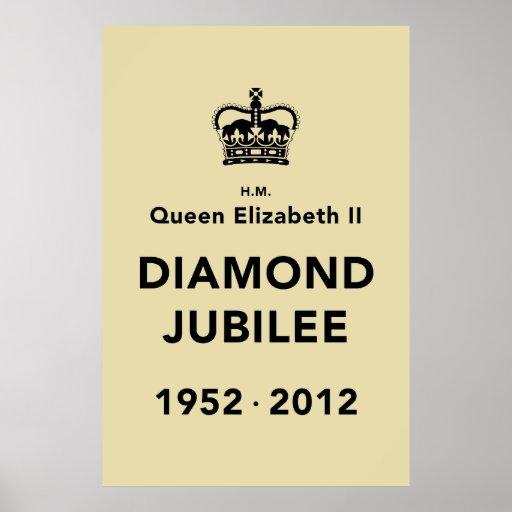 Diamond Jubilee Commemorative Poster [Calm]
