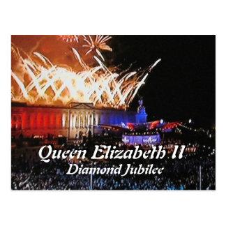 Diamond Jubilee concert commemorative postcard