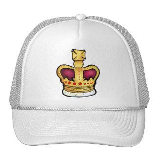 Diamond Jubilee Crown gorgeous drawing Trucker Hat