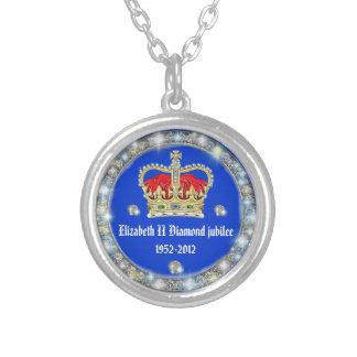 Diamond Jubilee Crown Pendant