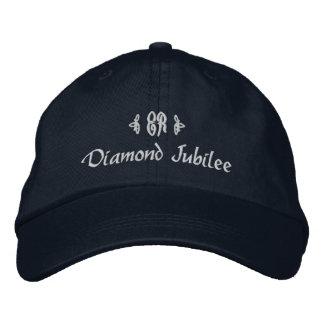 Diamond Jubilee-Elizabeth Royal Monogram Baseball Cap