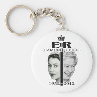 Diamond Jubilee Keychain