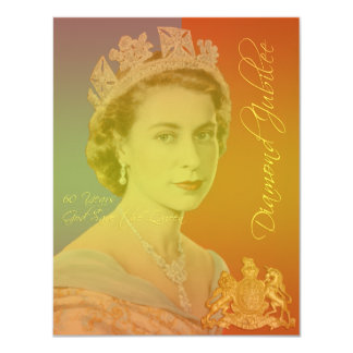 Diamond Jubilee party invitations