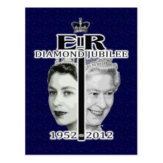 Diamond Jubilee Postcard