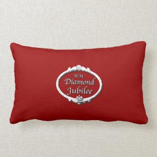 Diamond Jubilee-Queen Elizabeth Lumbar Pillow