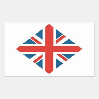 Diamond Jubilee Rectangular Sticker