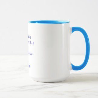 Diamond Jubilee Ringer Mug