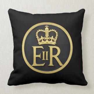 Diamond Jubilee Sign. Throw Pillow