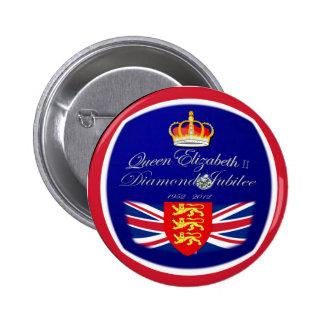 Diamond Jubilee Souvenir ~ button/Pin/badge Button