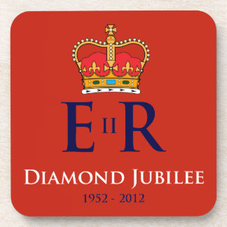Diamond Jubilee Souvenir Coaster