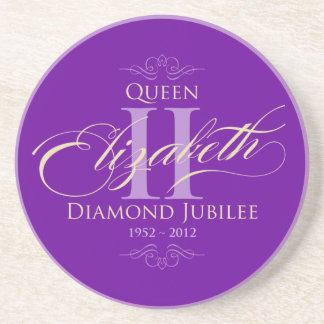 Diamond Jubilee Souvenir Coasters