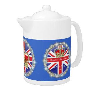 Diamond Jubilee Teapot at Zazzle