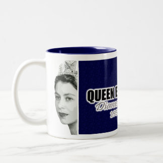 Diamond Jubilee Two-Tone Coffee Mug