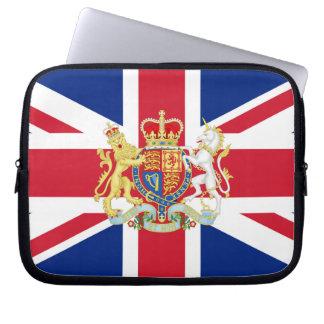 Diamond Jubilee Union Flag and Royal Crest Computer Sleeve
