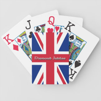 Diamond Jubilee-Union Jack Flag Bicycle Playing Cards