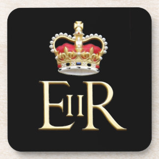 Diamond Jubilee ...United Kingdom Beverage Coaster