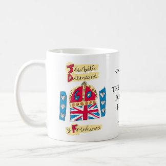 Diamond Jubilee Wales Coffee Mugs