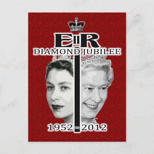 Diamond Jubliee Postcard postcards
