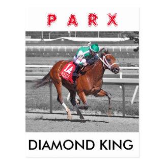 Diamond King - Frankie Pennington Postcard