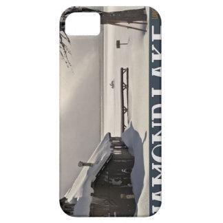 Diamond Lake Marina Winter iPhone 5 Cases