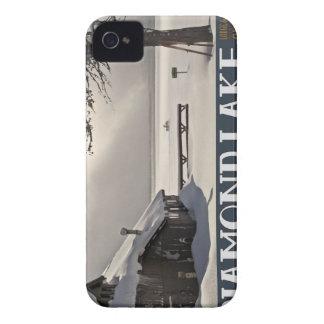Diamond Lake Marina Winter iPhone 4 Case