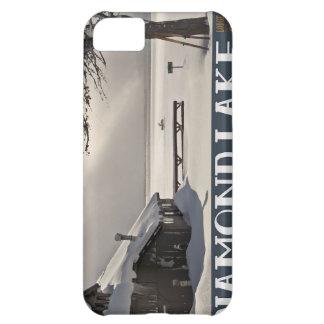 Diamond Lake Marina Winter iPhone 5C Cases