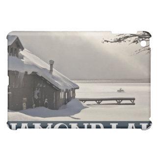 Diamond Lake Marina Winter iPad Mini Case