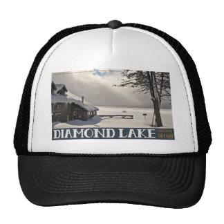 Diamond Lake Marina Winter Trucker Hat