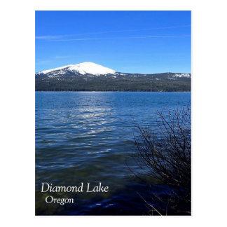 Diamond Lake with Mount Bailey Postcard