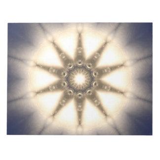 Diamond Light Mandala Notepad