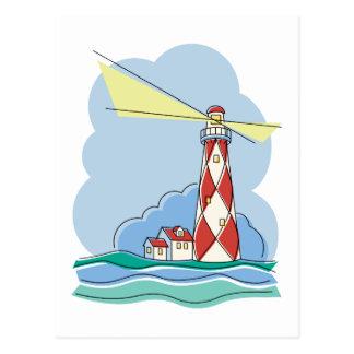 Diamond Lighthouse Postcard