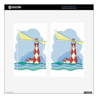 Diamond Lighthouse Skins For Kindle Fire