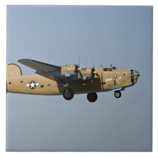 Diamond Lil B-24 Bomber, landing at Oshkosh, Ceramic Tile