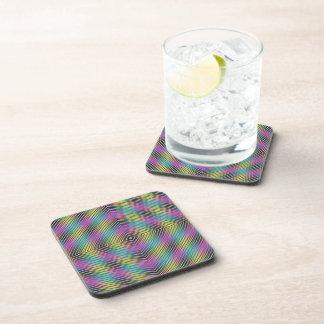 Diamond Lines Beverage Coaster