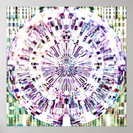 Diamond Mandala 1.3 Poster